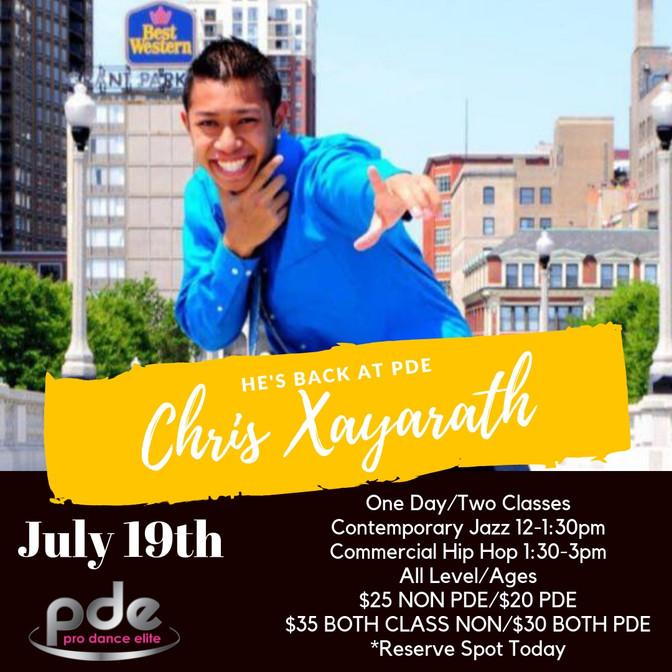 MASTER CLASS - CHRIS XAYARATH