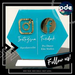 Follow Us IG FB Post