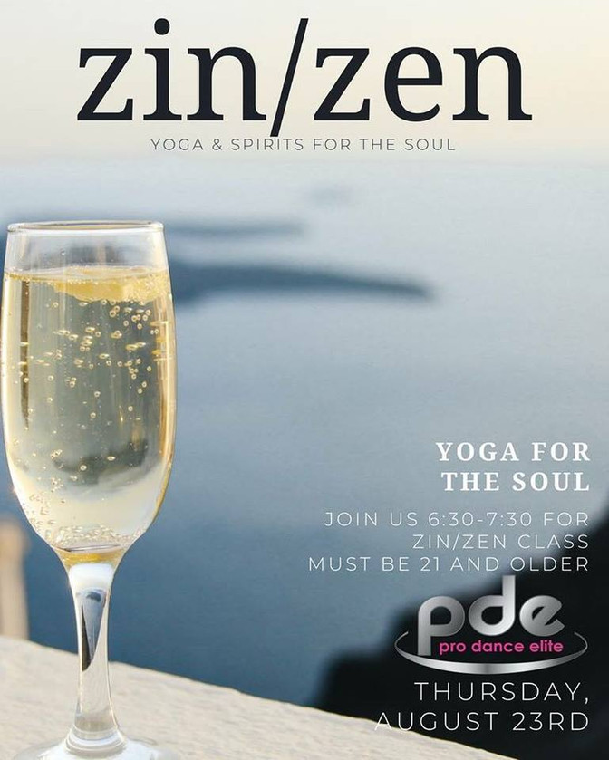 ZIN/ZEN Yoga Class August 23rd
