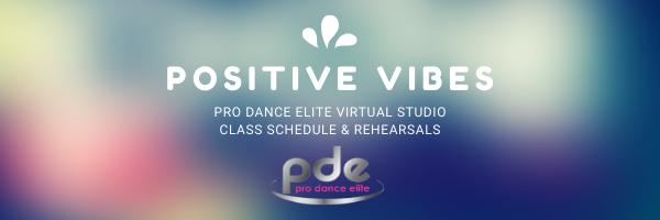 Pro Dance Elite 2020 SUMMER SCHEDULE AND DETAILS