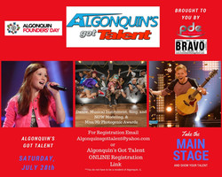 2018 Algonquin's Got Talent Flyer