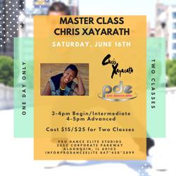 2018 pro dance elite chris xayarath master class