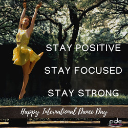 PDE 1 Happy International Dance Day