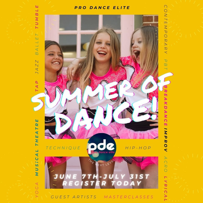 Want to dance this summer?  Grab a spot today...space limited!!!