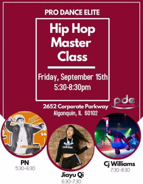 Pro Dance Elite Breakin Program Master Class