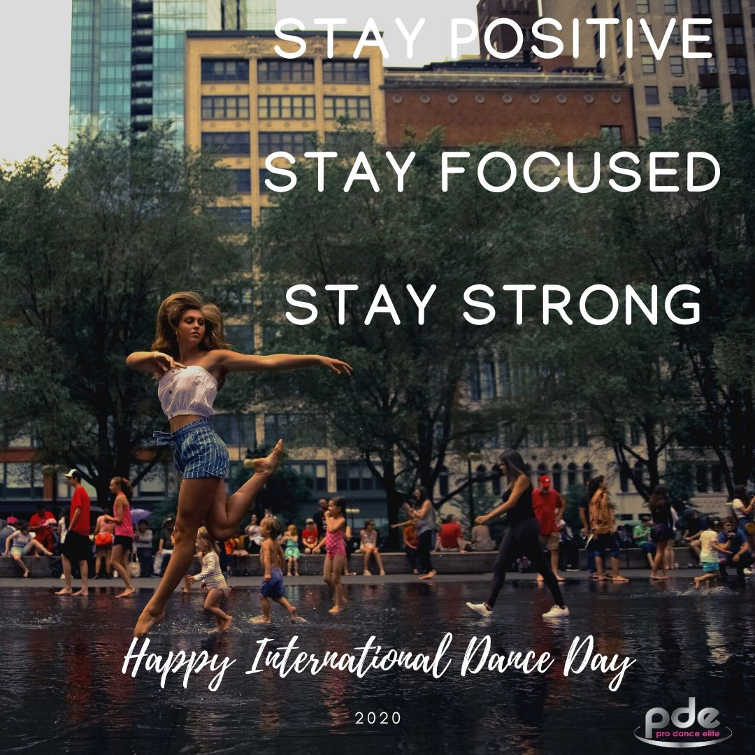 Happy International Dance Day