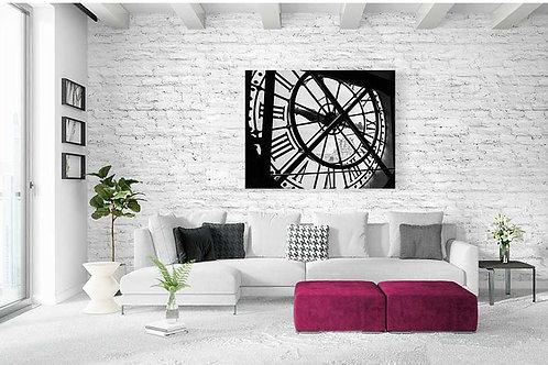 "Tableau ""Maître des horloges"""