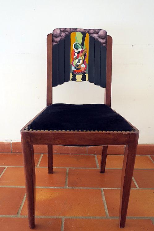 Chaise Justine par Thierry Miramon