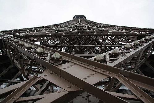 """Tableau """"Tour Eiffel en perspective"""""""