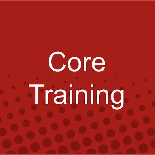Core Training (Jan 2021)