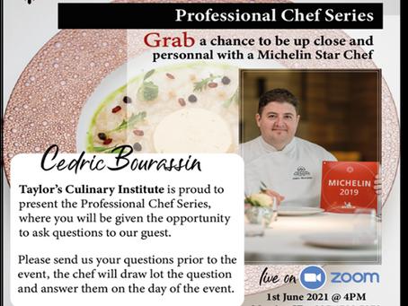 TCI Professional Chef Series with Michelin Starred Chef Cedric Bourassin