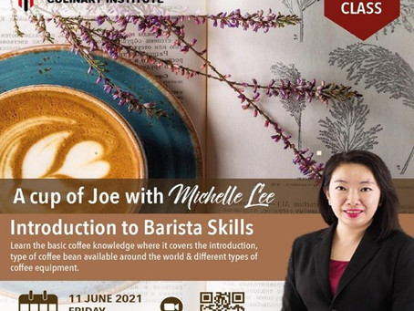"""""""A Cup of Joe"""" with Michelle Lee on the Introduction to Barista Skills"""