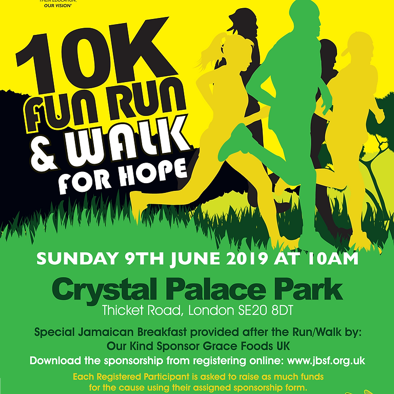 10k Fun Run & Walk for Hope