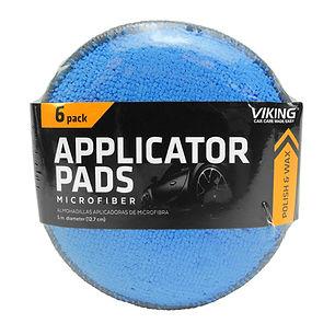 Microfiber Applicator Pads 6pk