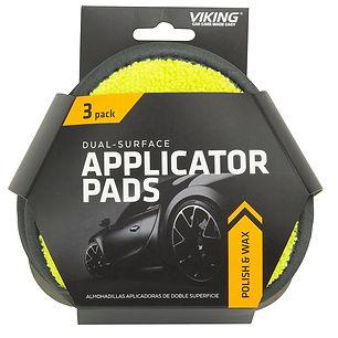 Dual Surface Applicator Pads 3pk