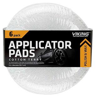 Cotton Terry Applicator Pads 6pk