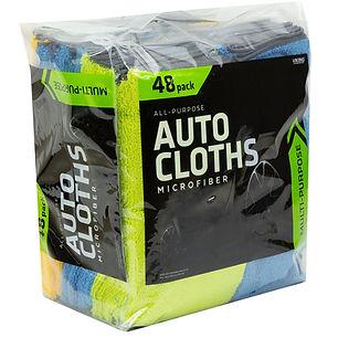 Microfiber All-Purpose Auto Cloths 48pk