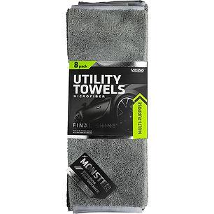 Microfiber Monster Utility Towels 8pk
