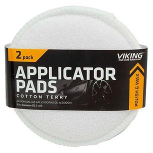 Cotton Terry Applicator Pads 2pk