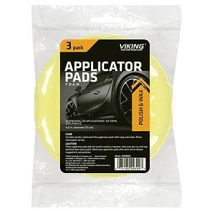 Foam Applicator Pads 3pk
