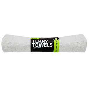 Cotton Terry Towels 3pk