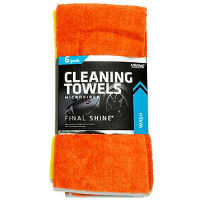Microfiber Cleaning Towels 6pk