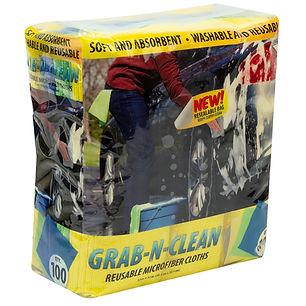 Grab-N-Clean Reusable Microfiber Cloths 100pk