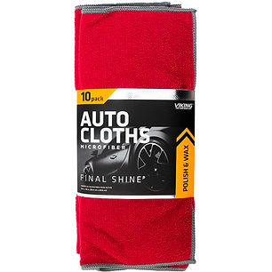 Microfiber Auto Cloths 10pk