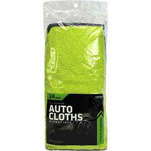 Microfiber All-Purpose Auto Cloths 24pk