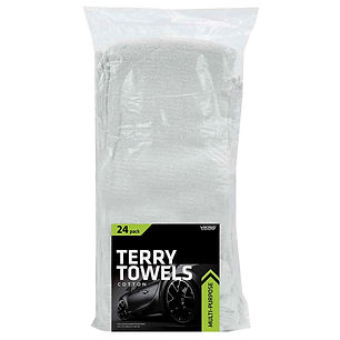 Cotton Terry Towels 24pk