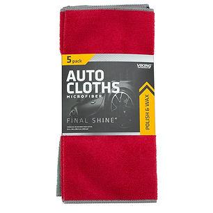 Microfiber Auto Cloths 5pk