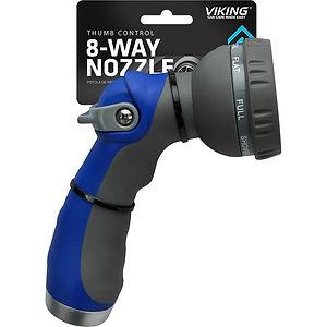 Thumb Control 8-Way Nozzle
