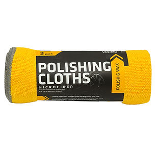 Microfiber Polishing Cloths 3pk