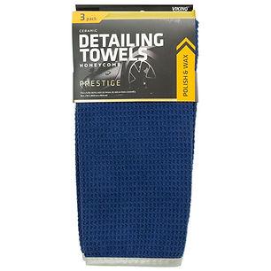 HoneyComb Ceramic Detailing Towels 3pk