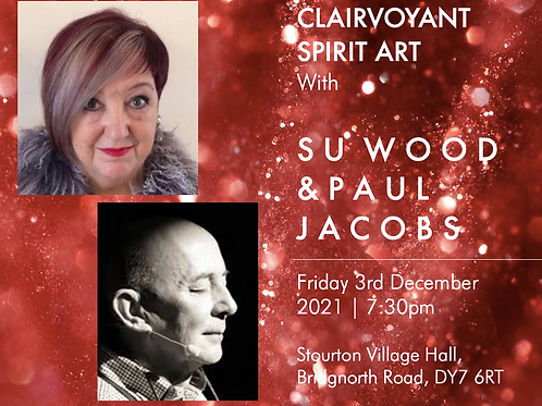 Spirit Art with Su Wood & Paul Jacobs