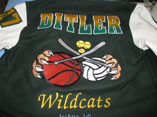Sonora High School Letterman Jacket