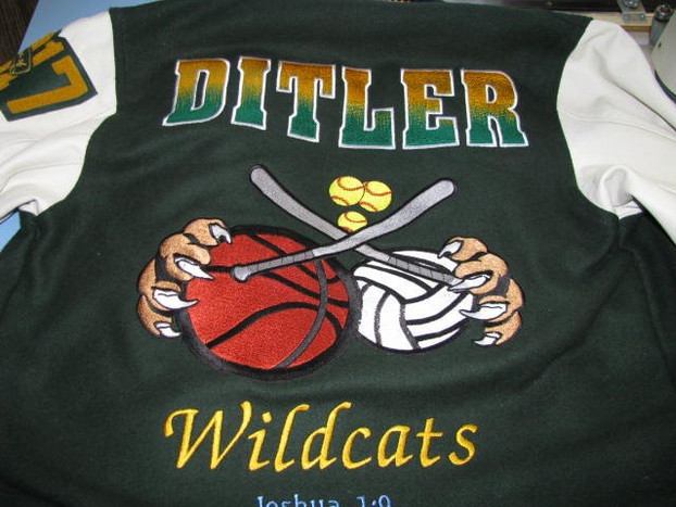 Sonora High School Letterman Jacket