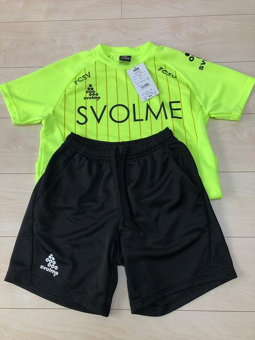 スボルメトレーニングウェア(半袖)黄 SVLY