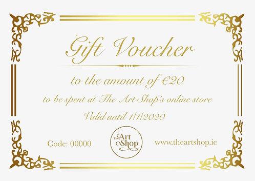 Gift Voucher - €20
