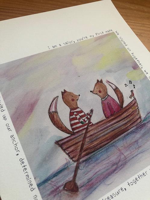 The Voyage (Part 1) - Print