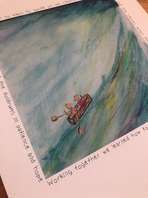 The Voyage (Part 2) - Print
