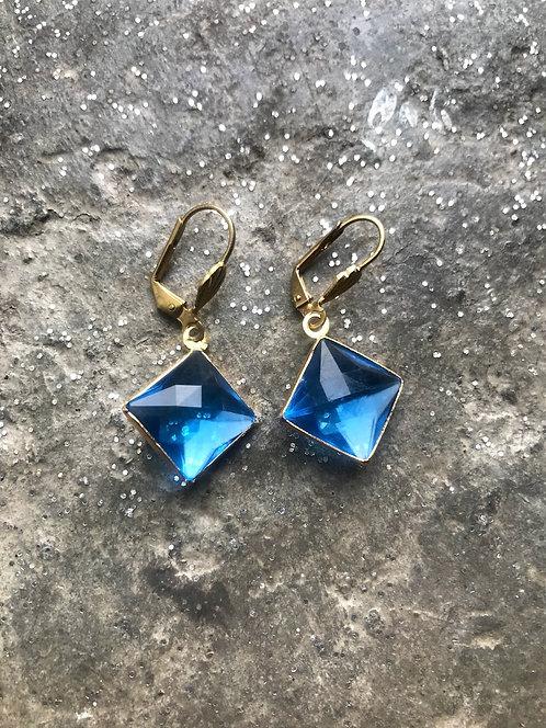 Blue Channel Set Diamond Gem