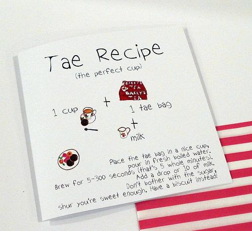 Tae Recipe