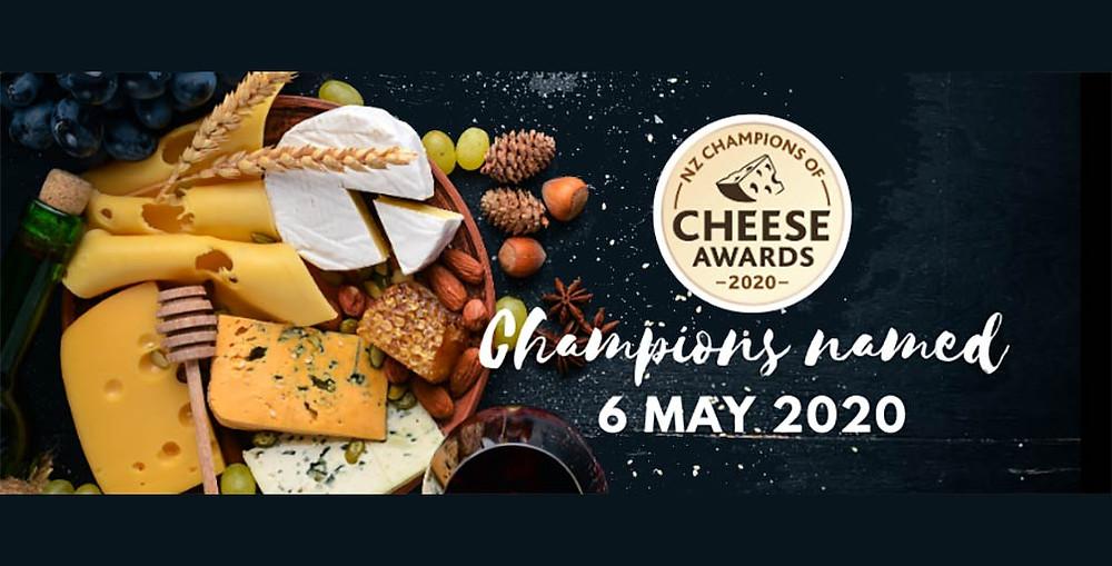NZ Champions Cheese Awards 2020 best NZ artisan cheese