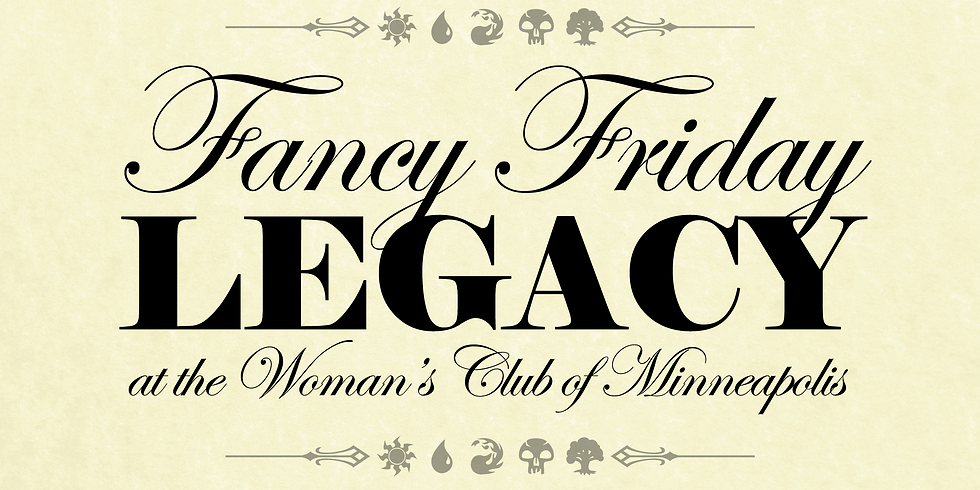 Fancy Friday: Legacy at the Woman's Club of Minneapolis