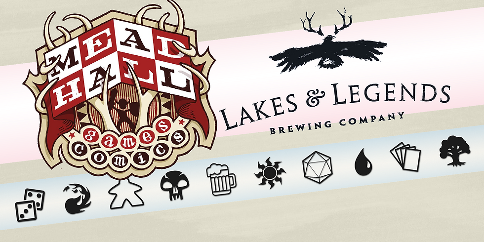 Lakes & Legends Game Night
