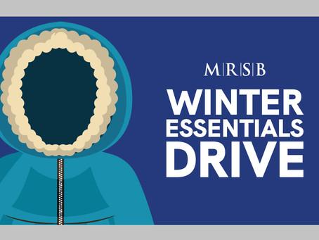 MRSB Winter Essentials Drive