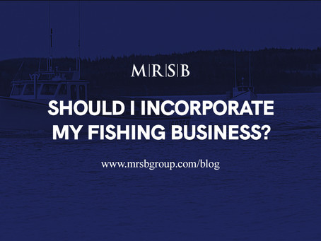 Should I Incorporate My Fishing Business?