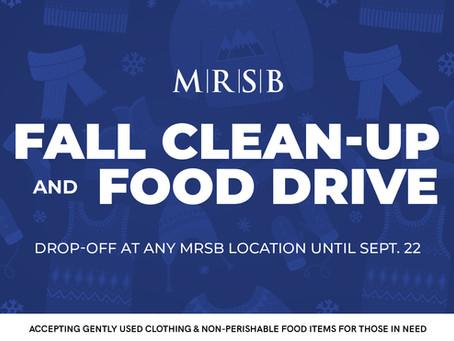 MRSB Fall Clean-Up & Food Drive