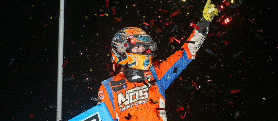 TYLER COURTNEY SURVIVES A FRENZY AT FAIRBURY FOR FOURTH ALL STAR WIN OF 2021